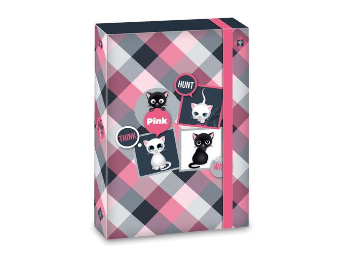 Ars Una Box na sešity Think Pink A4