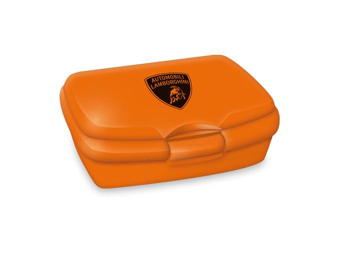 130 ars una box na svacinu lamborghini orange