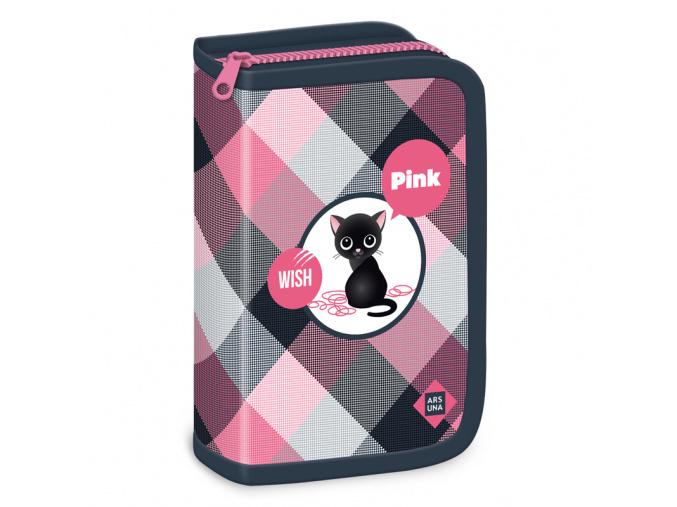 Ars Una Penál Think Pink rozkládací