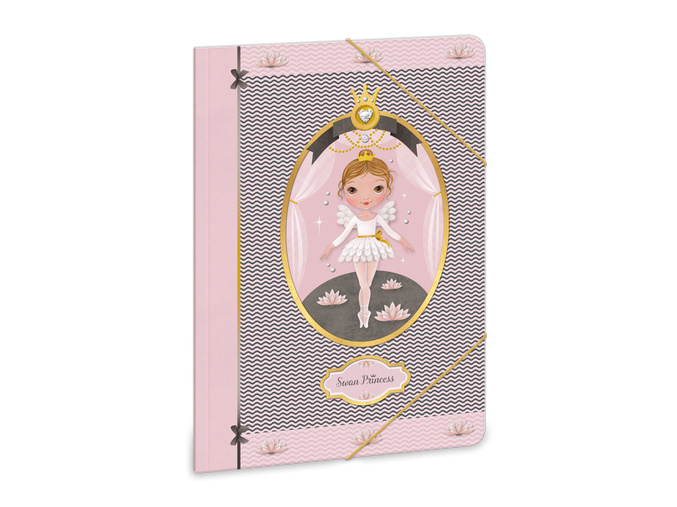 Ars Una Složka na sešity Swan Ballerina A5