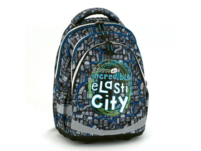 85 ars una skolni batoh elasti city