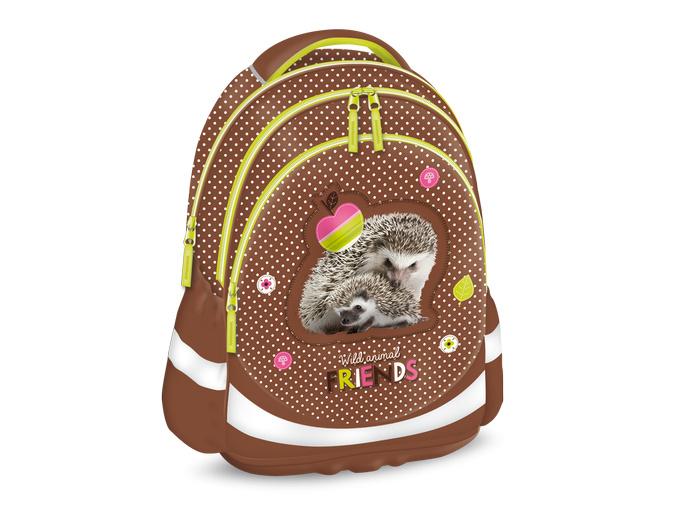 82 ars una skolni batoh hedgehog