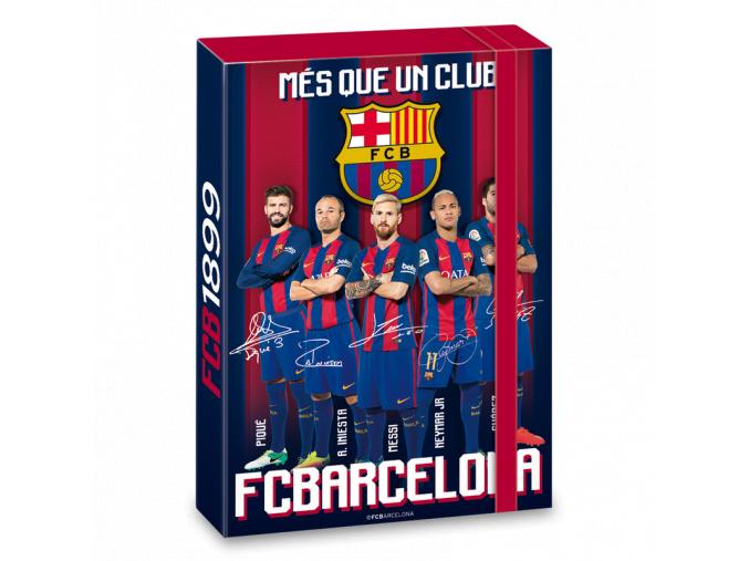 1671 box na sesity fc barcelona a5 hraci