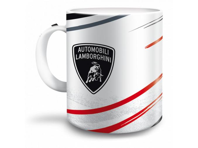 Hrnek Lamborghini 300 ml bílý