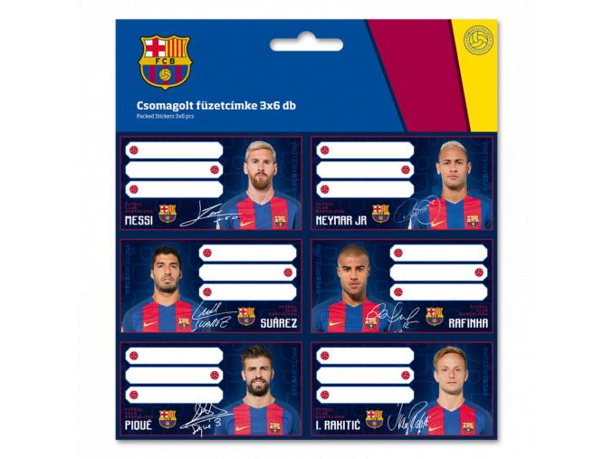 1677 jmenovky na sesity fc barcelona