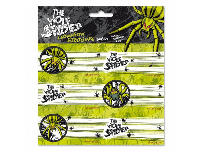 Jmenovky na sešity Wolf Spider 18ks