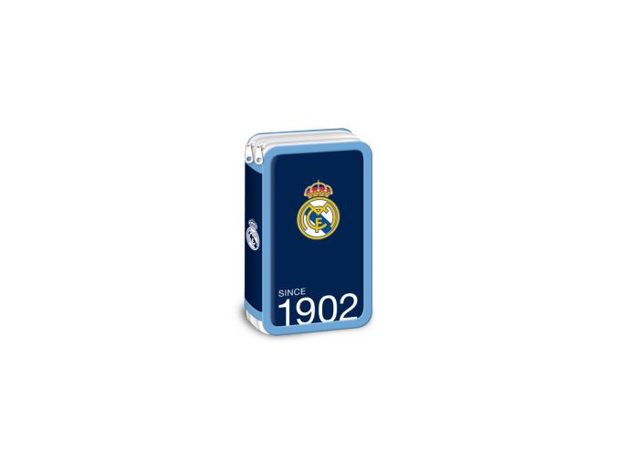 Penál Real Madrid modrý patrový