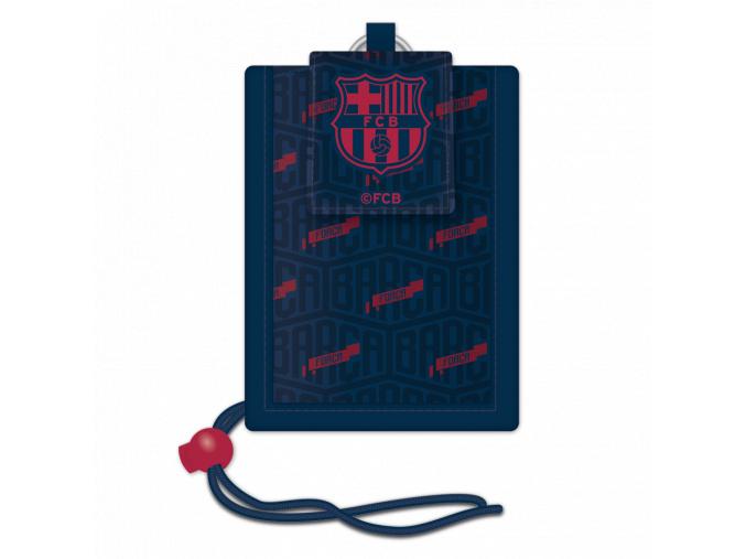 Peněženka na krk FC Barcelona dark blue