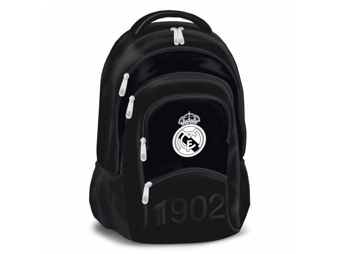 1353 skolni batoh real madrid black 5k