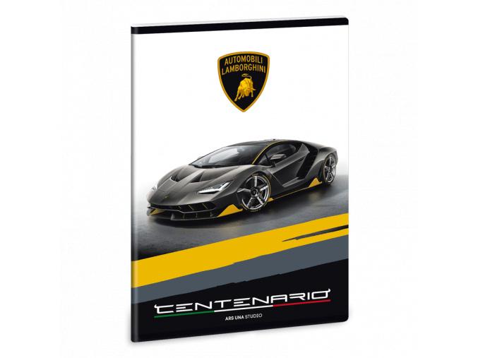Sešit Lamborghini Centenario A5 linkovaný
