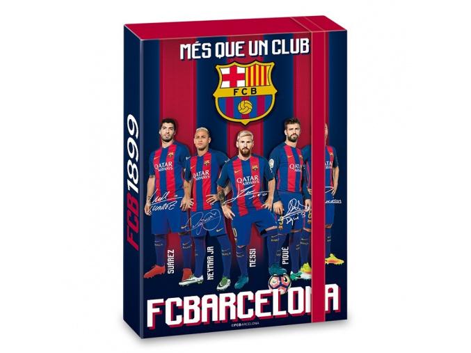 Box na sešity FC Barcelona A4 hráči