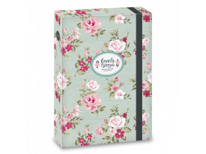 Box na sešity Vintage Rose A4