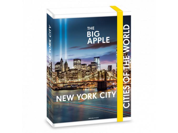 Box na sešity New York A4