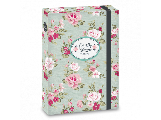 Box na sešity Vintage Rose A5