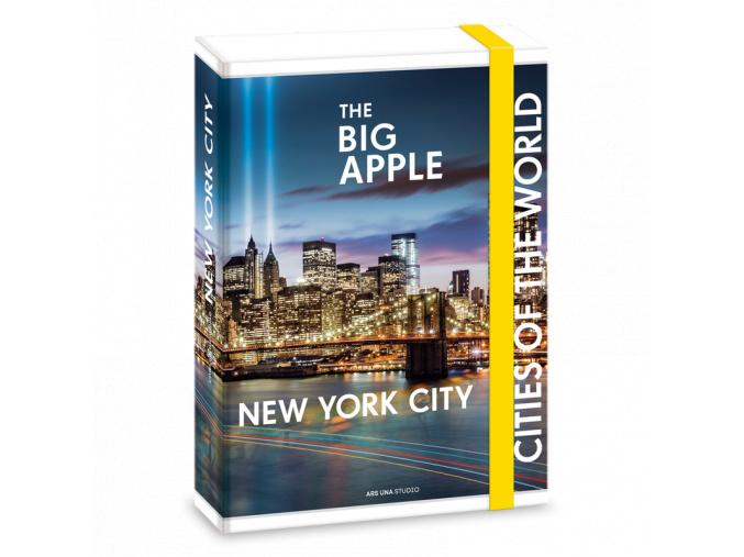 Box na sešity New York A5