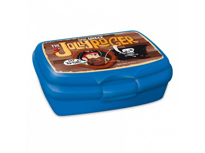 Box na svačinu Pirát Jolly Roger