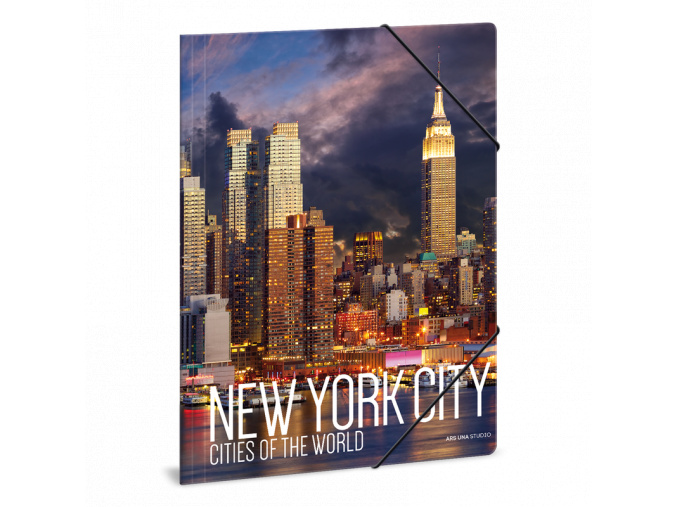 Ars Una Složka na sešity New York A4