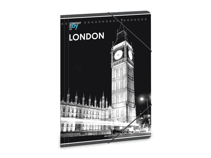 Ars Una Složka na sešity Noční Londýn A4
