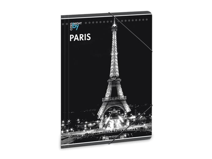 Ars Una Složka na sešity Noční Paříž A4