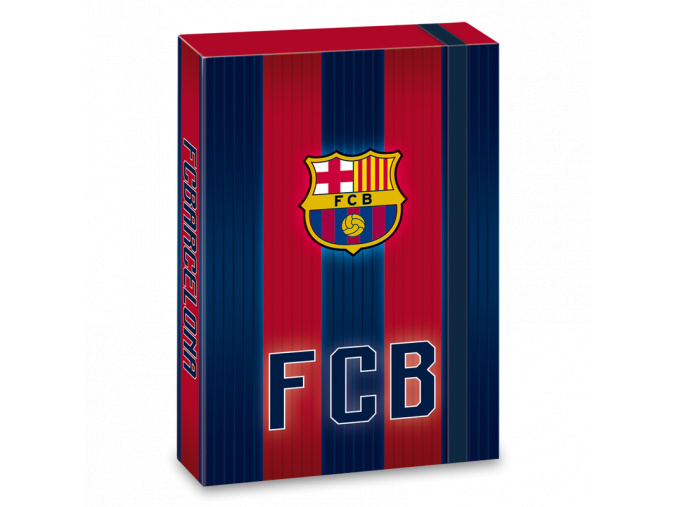 Box na sešity FC Barcelona 18 stripes A4