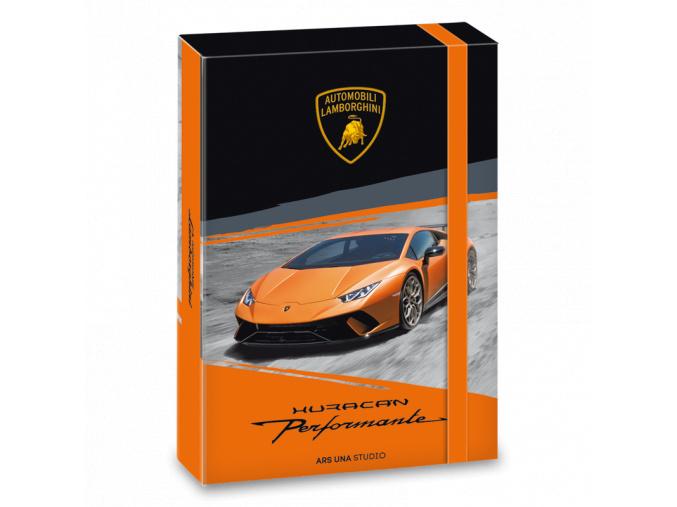 Box na sešity Lamborghini 18 A5