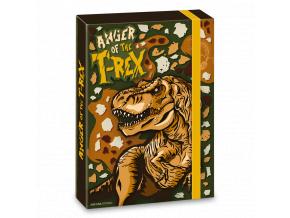 1237 ars una box na sesity t rex dinosaurus a5
