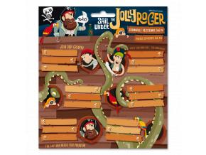 1174 ars una jmenovky na sesity pirat jolly roger 18ks