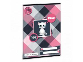 Ars Una Sešit Think Pink A5