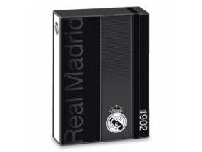 Box na sešity Real Madrid A4 black