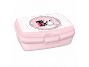 Box na svačinu Think Pink kočky