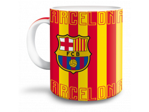 Hrnek FC Barcelona cat