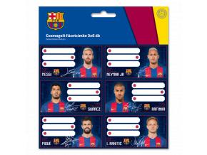 Jmenovky na sešity FC Barcelona