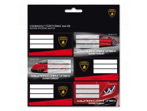 Jmenovky na sešity Lamborghini Huracán 18ks