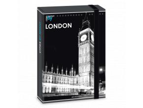 Box na sešity Londýn A5