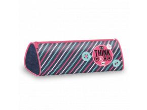 Penál Think Pink 18 úzký