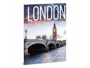 Ars Una Složka na sešity Londýn 2 A4
