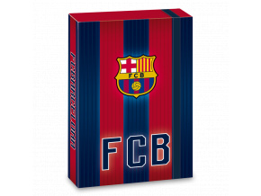 Box na sešity FC Barcelona 18 stripes A5