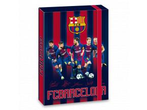 Box na sešity FC Barcelona18 hráči A4
