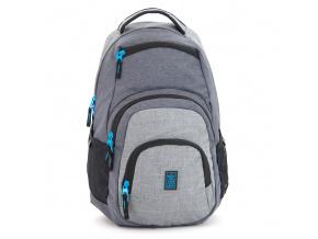 Studentský batoh Autonomy AU2 šedý