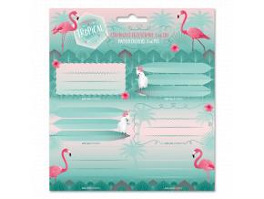 3356 ars una jmenovky na sesity pink flamingo