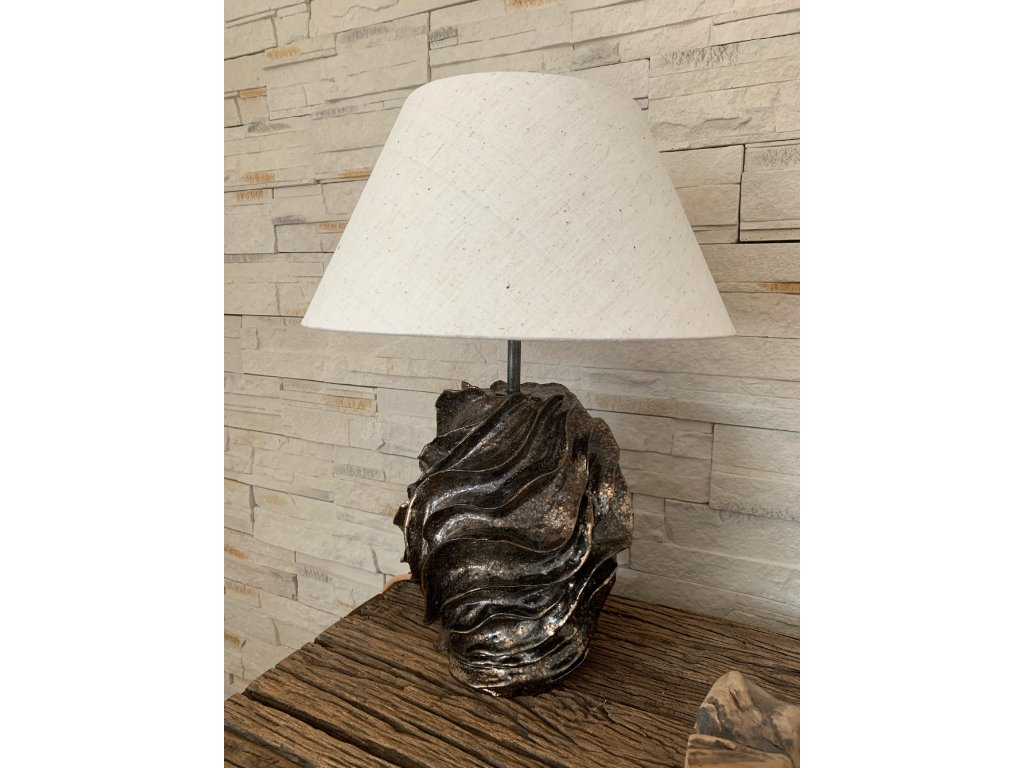 Keramická pokojová lampa
