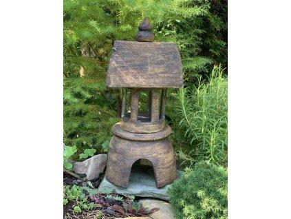 Keramická japonská lampa