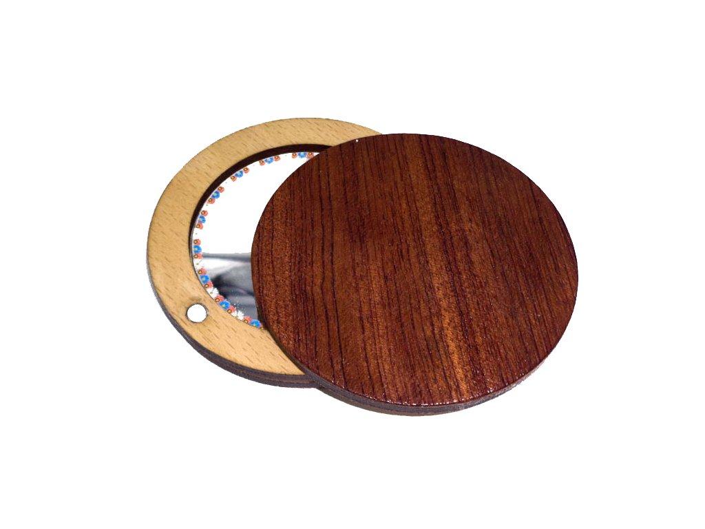 Dřevěné zrcátko - Bubingo