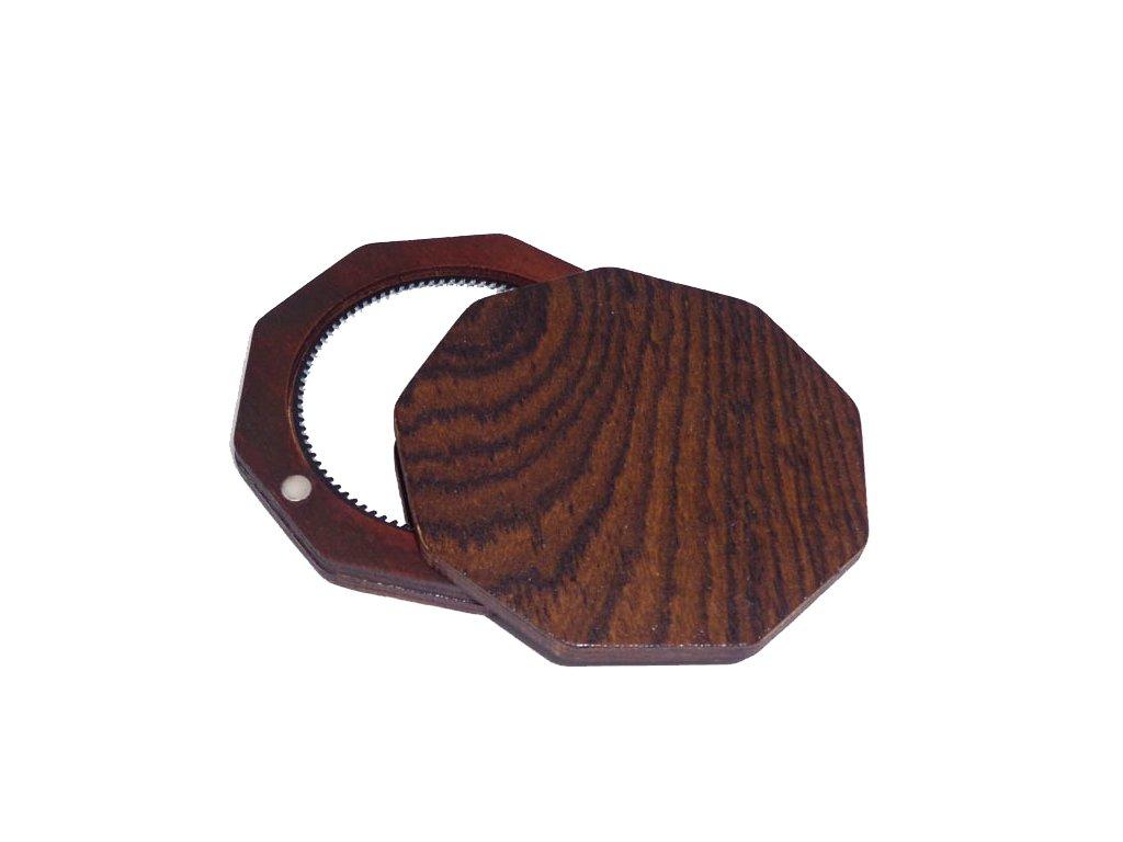 Dřevěné zrcátko - Bocote