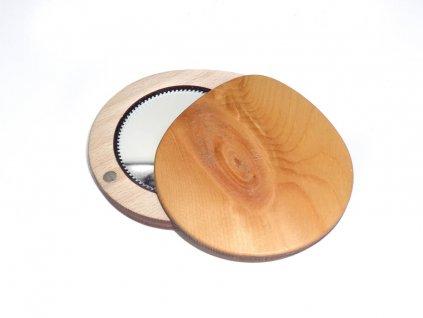 Dřevěné zrcátko - smrk