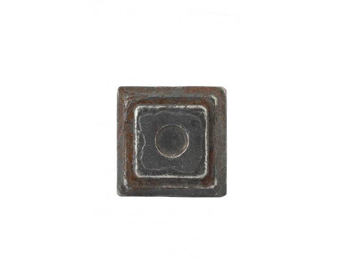 Krytka  kovaná bez otvoru  50x50x20 mm