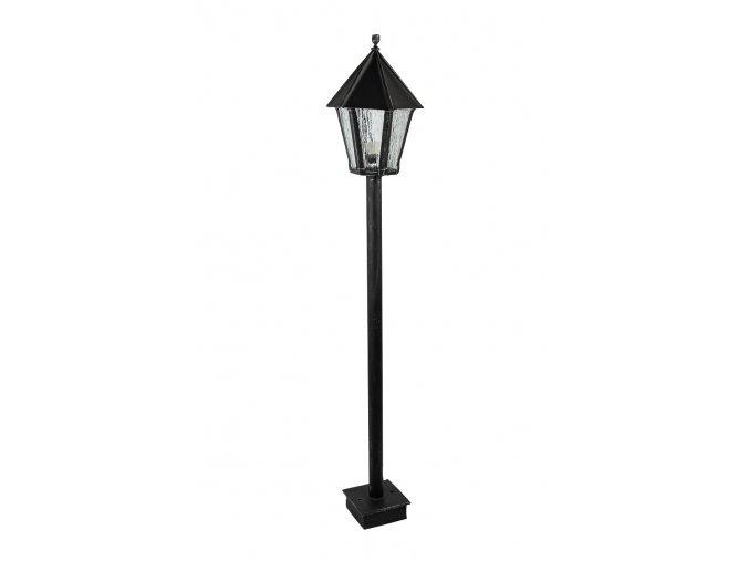 Kovaná zahradní lampa 1600 mm