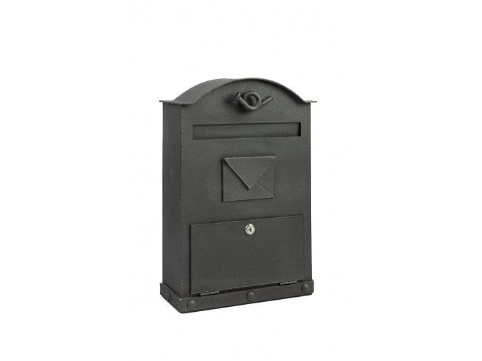 Kovaná poštovní schránka 450x300x100 mm