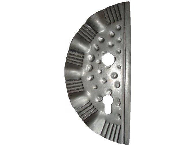 Zámková kapsa -  levá 272x125x2,5 mm, roteč 90 mm