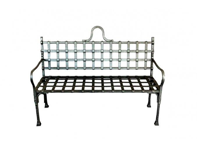 Kovaná lavička 1425 mm